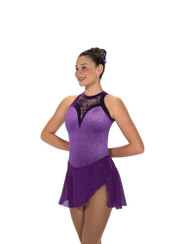 Jerry's Ice Skating  Dress - 221 Lace Drop Dress - Purple