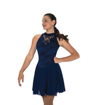 Jerry's Ice Skating  Dress - 256 Deep Edges Dance Dress Navy Blue