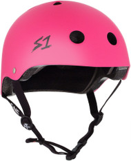 S1 Lifer Helmet - Neon Hot Pink Matte
