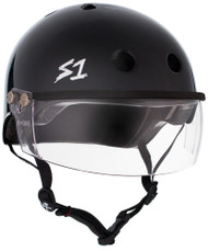 S1 Lifer Visor Helmet - Black Gloss
