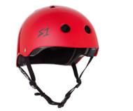 S1 Lifer Helmet - Bright Red Gloss