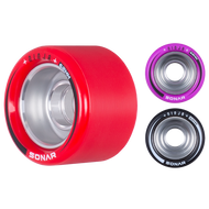 Riedell Skates Sonar Ninja Speed 62mm x 43mm Wheels (4-Pack)