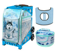 Zuca Sport Bag -  Husky with FREE Lunchbox and Seat Cover (Blue Frame)