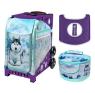 Zuca Sport Bag -  Husky with FREE Lunchbox and Seat Cover (Purple Frame)
