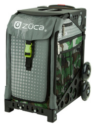 Zuca Sport Bag - PAINTBALL with Black Frame ( Used )