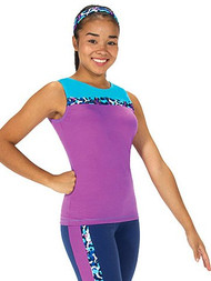 Jerry's S318 Fizzy Spots Ice Skating Top Youth Large CLEARANCE(40% OFF)