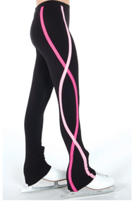 Jerry's S130 Ribbon Ice Skating Pants - Pink , Youth 12-14 CLEARANCE (25% OFF)