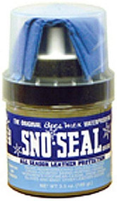 Atsko Sno-Seal 3.5. oz. (100 gram) with applicator Waterproofing