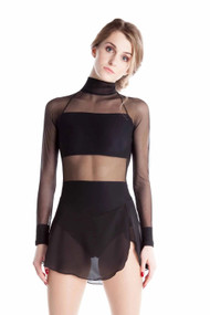Elite Xpression - Crop Top Black Dress