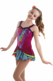 Elite Xpression - Colorful Circus Dress