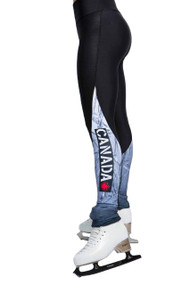 Elite Xpression - Legging with Inserts - Nation Canada