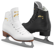 Ice Skates Graf Ace-Size 2.5 M White ONLY *Sale*
