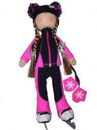 Tilda Doll by IceDress- Figure Skater - Bracket Outfit  (Fuchsia)