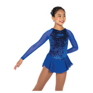 Jerry's Ice Skating Dress   - 11 Diamond Chips (Royal Blue)