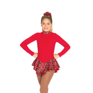 Jerry's Ice Skating Dress   - 20 Fancy Fleee (Ruby Red)