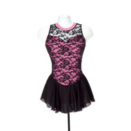 Jerry's Ice Skating Dress   - 275 Overlace (Rose)