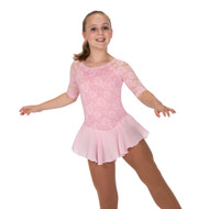 Jerry's Ice Skating Dress   - 279 Flora Lace (Soft Pink)