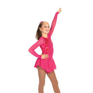 Jerry's Ice Skating Dress   - 421 Sizzle & Twizzle (Pink Sizzle)