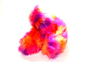 Crazy Fur Soakers - 01GCF - Glitter Crazy Fur - Orange, Pink & Purple