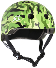 S1 Lifer Helmet - Green Camo Matte