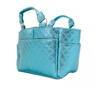 Kami-So Ice Skating Rink Tote - Great For Skate Guards Water Bottle and Other Skating Accessories (Aquamarine)