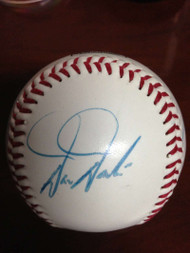 1993 Phillies All-Stars Autographed 1993 All Star Fanfest Logo Baseball