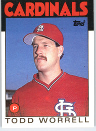 1986 Topps Traded #127T Todd Worrell NM-MT St. Louis Cardinals