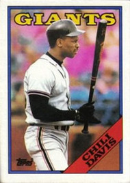 1988 Topps #15 Chili Davis NM-MT San Francisco Giants