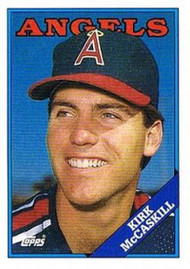 1988 Topps #16 Kirk McCaskill NM-MT California Angels