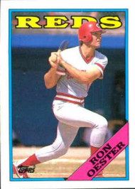 1988 Topps #17 Ron Oester NM-MT Cincinnati Reds