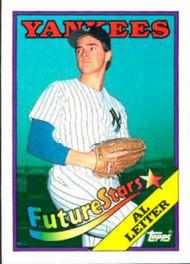 1988 Topps #18b Al Leiter COR NM-MT RC Rookie New York Yankees