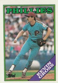 1988 Topps #20 Kevin Gross NM-MT Philadelphia Phillies