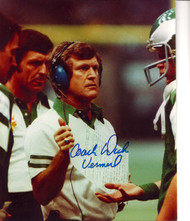 Dick Vermeil  Autographed 8 x 10 Photo Eagles