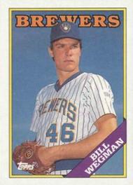 1988 Topps #538 Bill Wegman NM-MT Milwaukee Brewers