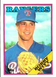1988 Topps #747 Bobby Witt NM-MT Texas Rangers