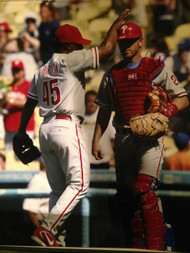 Mike Lieberthal Autographed Phillies 16 x 20  Photo
