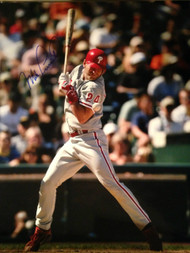 Mike Lieberthal Autographed Phillies 16 x 20  Photo 4