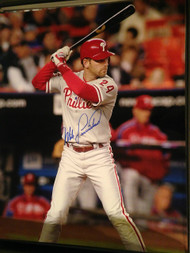 Mike Lieberthal Autographed Phillies 16 x 20  Photo 8