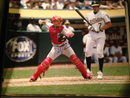 Mike Lieberthal Autographed Phillies 16 x 20  Photo 9