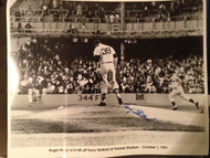 Tracy Stallard Autographed Roger Maris 61'st Home Run  16 x 20 Photo