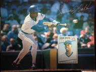 Jerome Walton Autographed Beckett Baseball Card Monthly