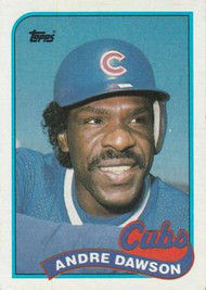1989 Topps #10 Andre Dawson NM-MT Chicago Cubs