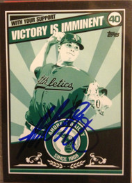 Andrew Bailey Autographed 2010 Topps Propaganda #PP15