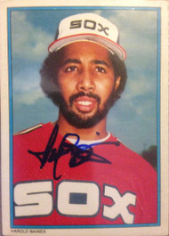Harold Baines Autographed 1985 Topps All-Star #14