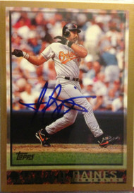 Harold Baines Autographed 1998 Topps #399