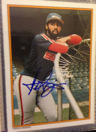 SOLD 1147 Harold Baines Autographed 1987 Topps All-Star#34