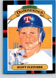 1988 Donruss #11 Scott Fletcher DK NM-MT Texas Rangers