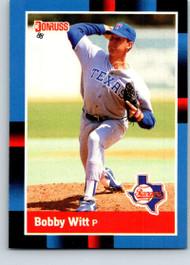 1988 Donruss #101 Bobby Witt NM-MT Texas Rangers