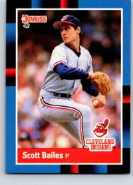 1988 Donruss #104 Scott Bailes NM-MT Cleveland Indians