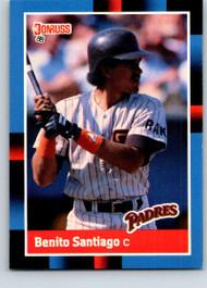 1988 Donruss #114 Benito Santiago NM-MT San Diego Padres
